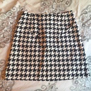 H&M Retro High-Waisted Checkered Mini Skirt